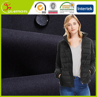 for sale microfiber FD Honeycomb Polyester Pongee Fabric PA milky Coated for soft shell and sports wear