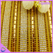 bling rhinestone crystals roll hotfix material for shoes