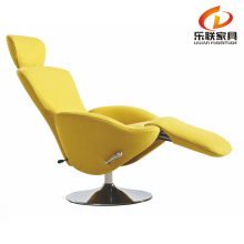 B322-2 Living Room Foot Rest Lounge Seat Fabric Comfy Relax Arm Chair Modern Chaise Lounge Chair