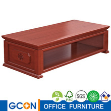 walnut teak wood chinese style end table coffee table