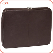 High quality 14 inch laptop leather sleeve