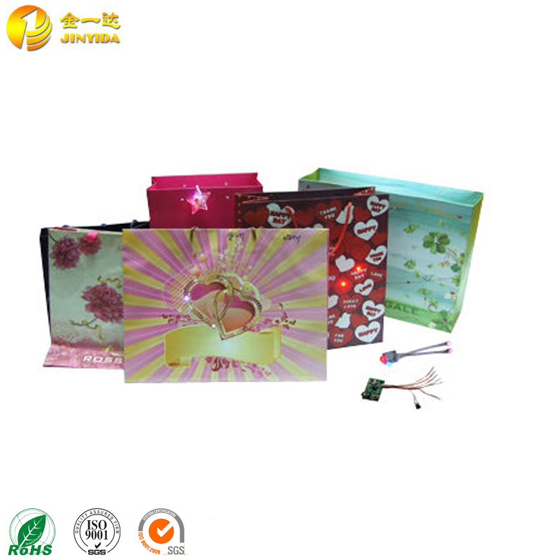 New fashion LED lumineer light bags with handles