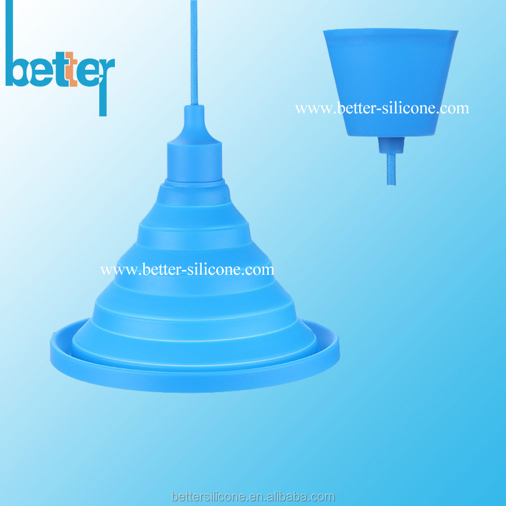 Room decorative dutable silicone lamp bulb cover