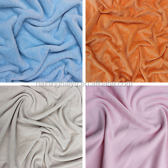 lining velboa fabric in india for cloth home textile fabric