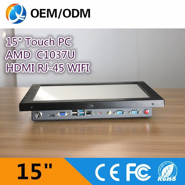 15 inch New industrial fanless mini pc 2015 computer hardware computer