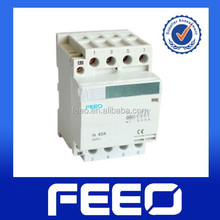 100a 440v AC contactor 25a 63a 400v din rail mounted 4P magnetic contactor