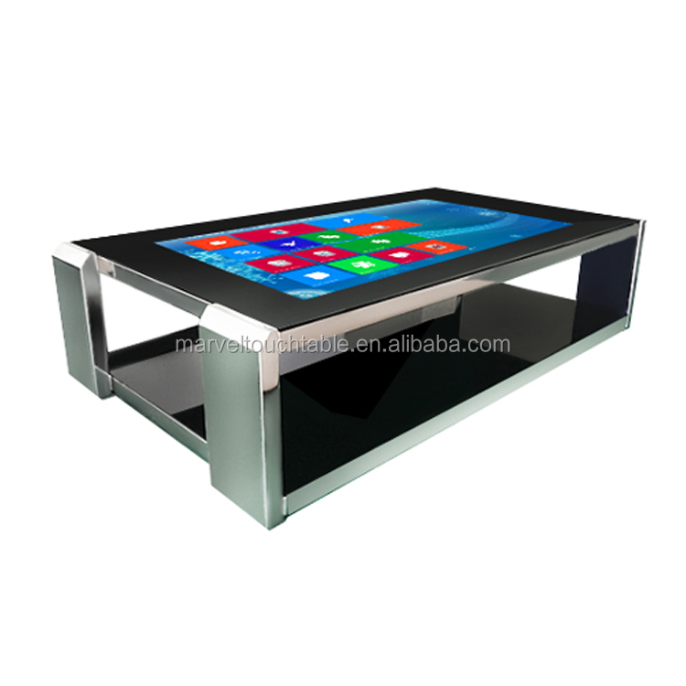 Factory supplier HD waterpfoof touch screen office/education table with wifi/lan/pc/