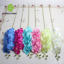 artificial butterfly orchid flowers plastic orchid flower arrangement for wedding decoration