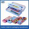 Newest design kids personalized tin pencil box For Kids