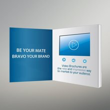 "Custom Wedding 2.4 "" Invitation Lcd Video Greeting Card"
