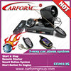 Extraordinary two way car alarm remote control with cover security system/CF2013S