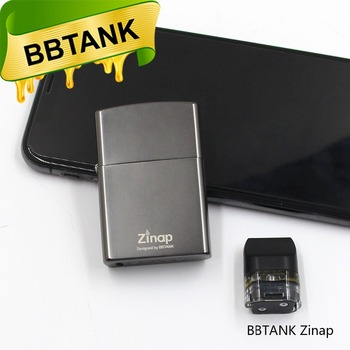 Lighter Design 2018 new product BBtank Zinap CBD Oil Vaporizer with 410mAh rechargeable battery