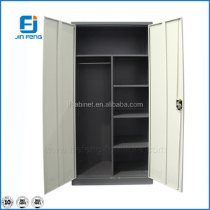 Two Door Steel Cheap Display Cabinet / Metal Cupboard