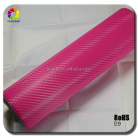 TSAUTOP colourful car body 1.52*30m 3D carbon fiber sticker