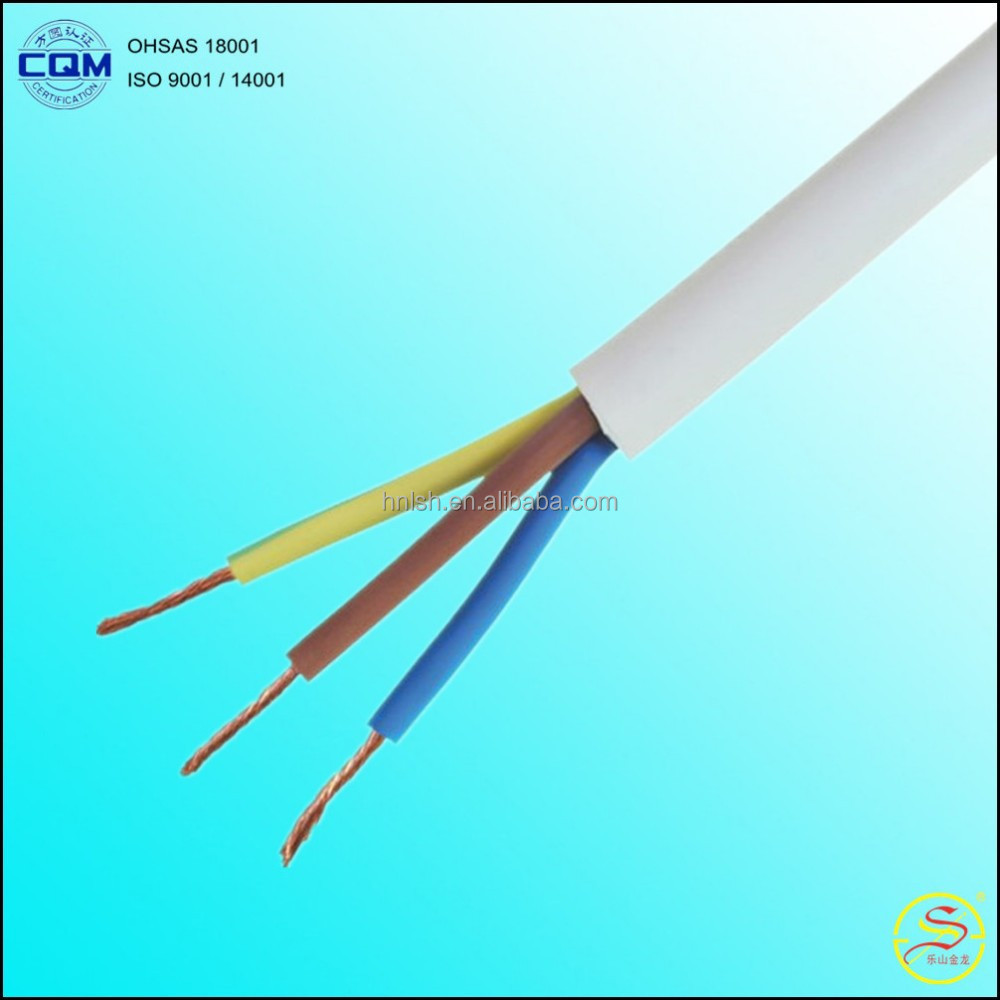 300/300V 70.C 60227 IEC 52 PVC Insulated and Sheathed Flexible Electrical Cable Wire