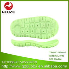 Guangzhou kids shoes outsole maker looking for sole distributor and agent