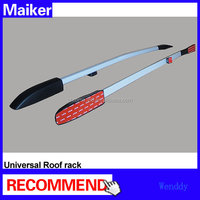 Universal Roof rack luggage rails roof rails 1.5m car removable roof rack