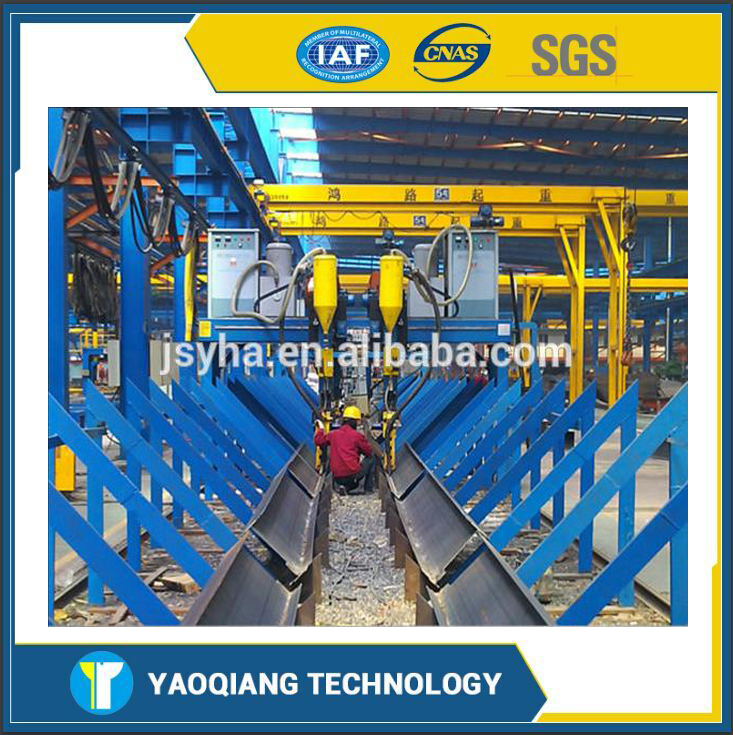 YQ Flux Recycle System Box Beam Welding Machine from Chinese Manufacturer