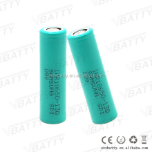 100% Original Samsung 13Q inr18650-13q 1300mah 3.7v li-ion battery for e cig