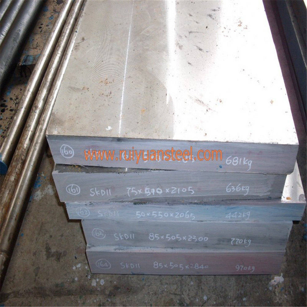 With Lowest Price D2 1.2379 SKD11 Cr12MoV K110 Tool Steel Material Stainless Steel Flat Bars