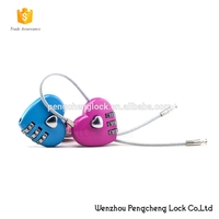 Digital Love Heart Shaped Combination Padlock