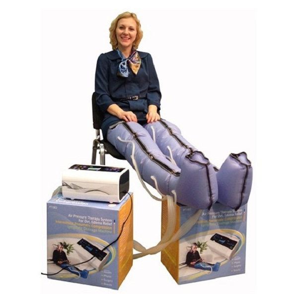 FDA CE Approved blood circulation foot massage machine Lymphatic Drainage Machine PT1002