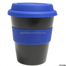 Wholesale Starbucks plastic coffee cup with Silicone lids(350ml/12OZ )