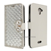 Wallet Style Full Cover Bling Diamond Phone Case For BLU R1 Plus Leather Cases