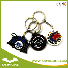 2017 Manufacturers Cheap Pvc Keychain in China/License Plate State Keychains