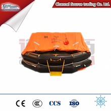 SOLAS Throw over type inflatable life raft for 6 10 15 20 25 person
