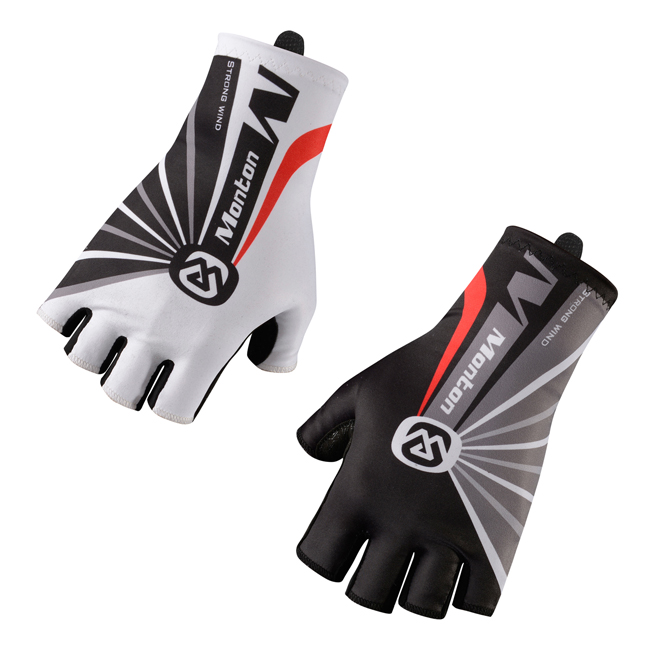 Monton Sport Bike Gloves Half Finger Padded Bike Gloves OEM