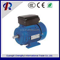 High rpm 1500rpm single phase electric motor 4 pole