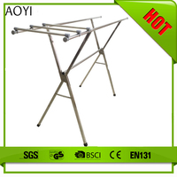 AY as seen on tv 2016 3 Tiers Foldable Clothes Drying Rack/Clothes Iron Stand