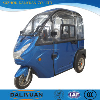 Daliyuan 3 wheel 2 wheels front motorcycle truck 3-wheel tricycle