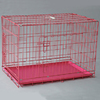 China manufacturer wholesale folding double door metal wire dog crate