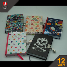 Personalized Diary notebook cute diary with lock