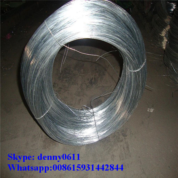 CE certifacation Galvanized iron wire for binding wire/ GI wire ---lgdmetal002