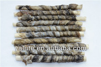 Fish Skin/ Duck Meat/ Chicken Jerky Rawhide Wraps dog food dog treats