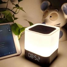 LED Touch Bedside Lamp Best Large Portable Wireless Speaker