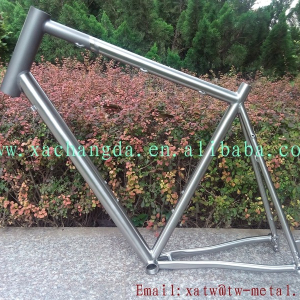 titanium cyclocross bike frame thru axle dropout titanium mountain bicycle frame thru axle dropout