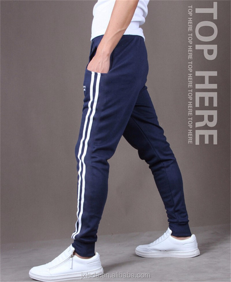 Hot 2016 New Brand Mens Joggers Casual Sweatpants Sport Pants Men Tracksuits Gym Bottoms Track Training Jogging Trousers