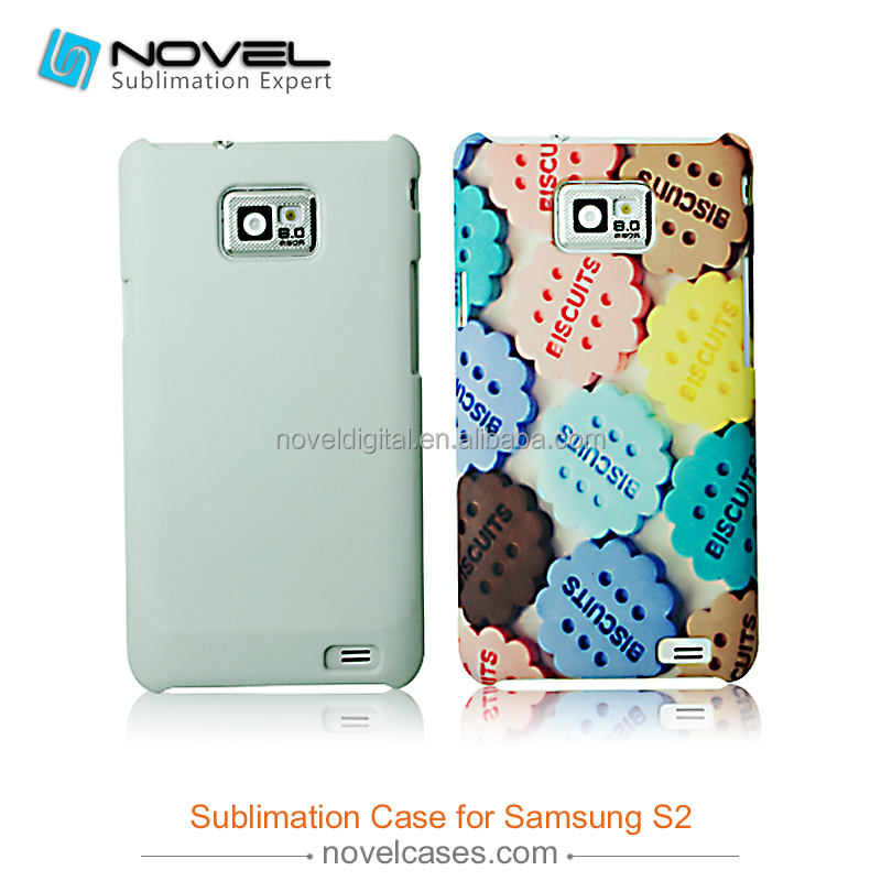 Cheapest 3D sublimation phone case for Samsung S2, for Samasung i9100