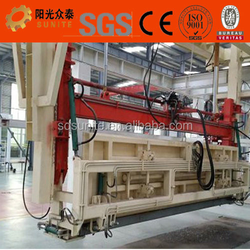 High productivity of Sunite aac block building machine production line with packing chain conveying system
