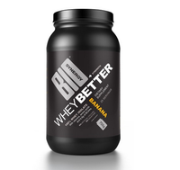 WHEY BETTER - 100% WHEY PROTEIN ISOLATE