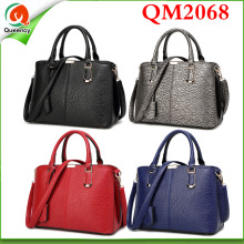 QM2068 genuine leather handbag 2016 new fashion design