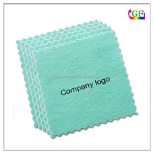 Custom logo silver polishing cloth
