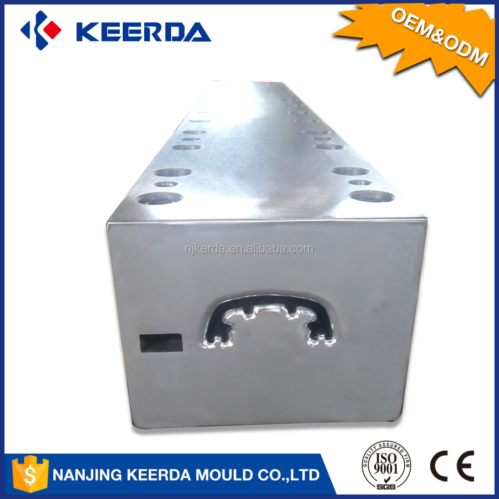 Best quality extruder die cast special shaped profile pultrusion mould