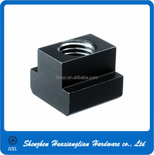 China Fastener Manufacturer M10 1.5MM Thread Anodized Aluminum T Slot Nut for Sales
