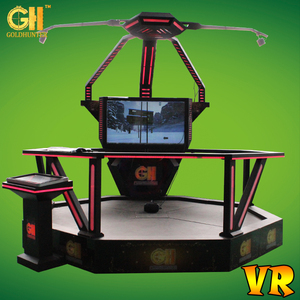 Virtual Reality Entertainment Equipment Motion Platform VR Games Cheap 9D VR Game Simulator For Sale