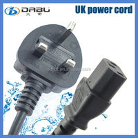 german electrical plug and socket uk ac power cord